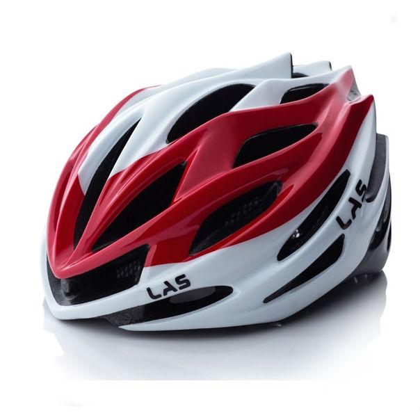 LAS GALAXY2.0 サイクリング ヘルメット (ホワイト/レッド) ラス ギャラクシー2.0 自転車