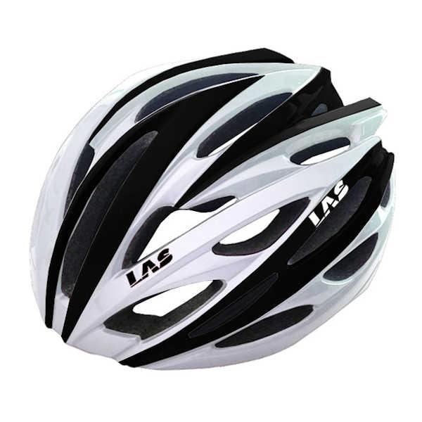 LAS VOYAGER サイクリング ヘルメット (?ホワイト/ブラック) ラス ボイジャー 自転車