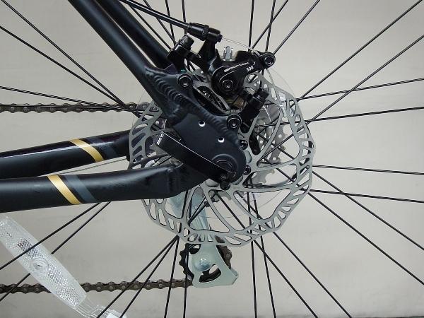 クロスバイク メリダ グランスピード 80-MD (シルクブラック(ダークグレー/ゴールド)   EK09) 2019 MERIDA GRAN SPEED 80-MD