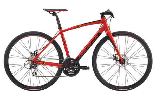 Diskブレーキとカーボンフォークでハイコストパフォーマンス クロスバイク メリダ グランスピード 80-MD (レッド(ブラック/オレンジ) | ER29) 2019 MERIDA GRAN SPEED 80-MD