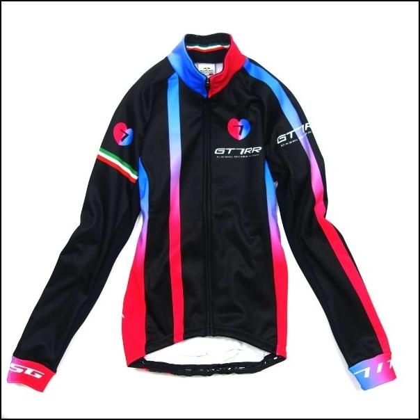 7-ITA(セブン・アイティーエー)レディ―ス サイクル ウェア 7ITA GT-7RR II Lady Jacket Black/Red (Mサイズ)