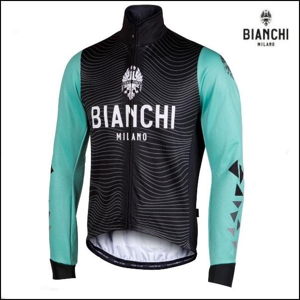 Bianchi MILANO ビアンキミラノ FWジャケット LAGUNDO / チェレステ / サイクルウエア/4300|Mサイズ