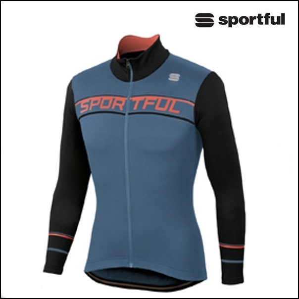Sportful (スポーツフル) GIRO THERMAL BLU/BLK /Mサイズ|長袖ジャージ
