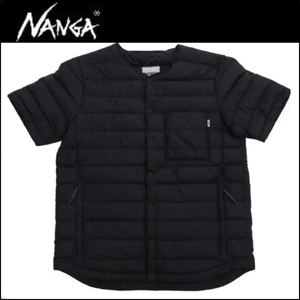 NANGA(ナンガ) ダウンTシャツ /BLK / Lサイズ