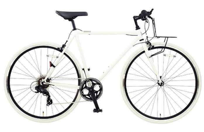 OSSO (オッソ)18R310-CR クロモリ クロスバイク (マットホワイト)