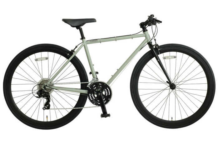 OSSO (オッソ)18R330-CR (Procyon) クロモリ クロスバイク (マットグレー)