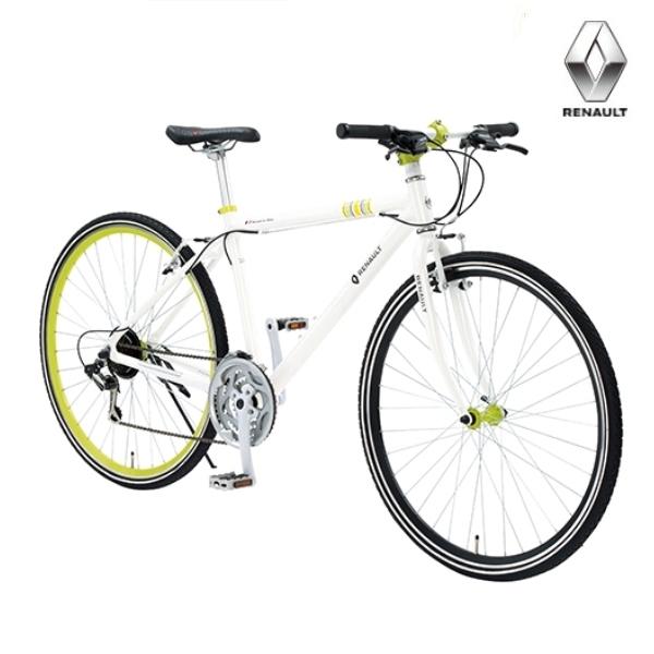クロスバイク RENAULT AL-CRB7021N ホワイト /1299 / ルノー 700C