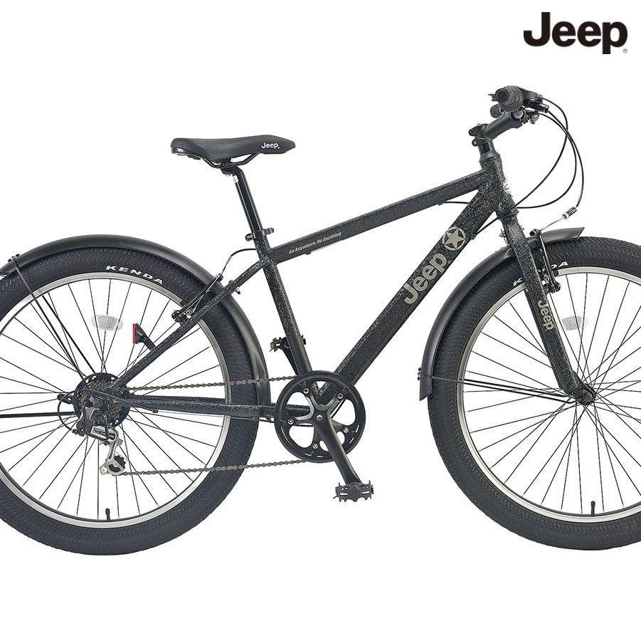 マウンテンバイク JEEP JE-266FT (ブラック) ジープ JE 266 FT ファットバイク
