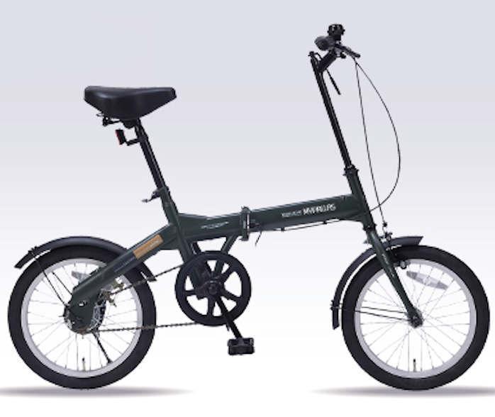 折り畳み自転車 16インチ折りたたみ自転車 マイパラス M-100 (グリーン)(MYPALLAS M-100) 折畳み自転車【送料無料・メーカー直送・代引不可】