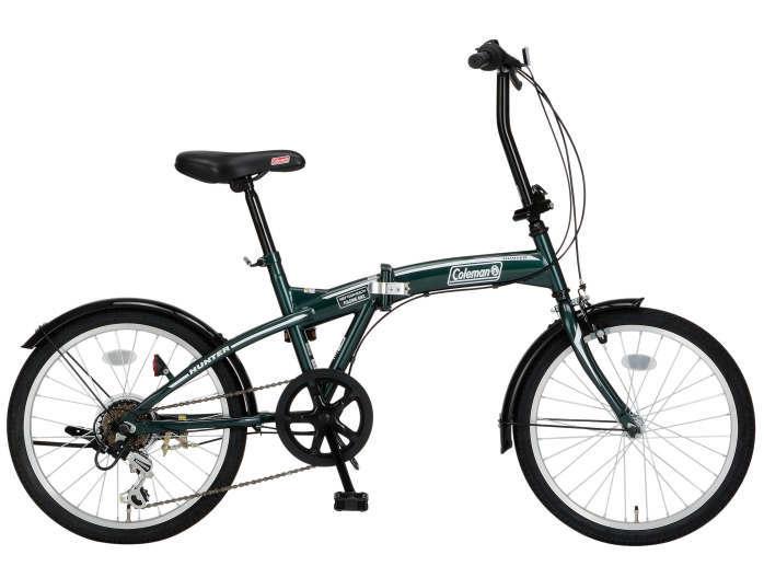 折りたたみ自転車 コールマン FDB206 ハンター (グリーン) 3300 Coleman FDB 206 HUNTER フォールディングバイク サギサカ SAGISAKA