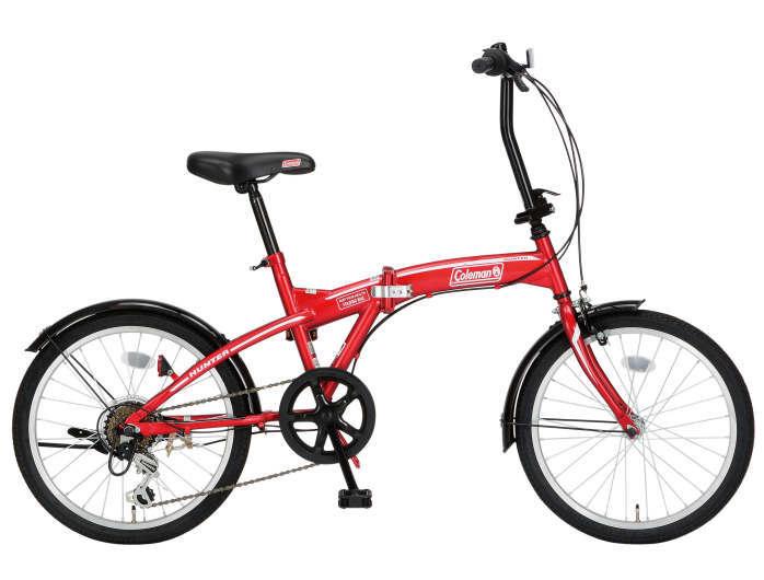 折りたたみ自転車 コールマン FDB206 ハンター (レッド) 3301 Coleman サギサカ SAGISAKA FDB 206 コールマン HUNTER フォールディングバイク サギサカ SAGISAKA, タカヤナギマチ:15dfd470 --- sunward.msk.ru