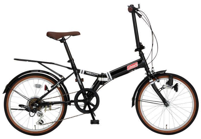 折りたたみ自転車 コールマン FDB206 ユース (ブラック) 3323 Coleman FDB 206 YOUTH フォールディングバイク サギサカ SAGISAKA