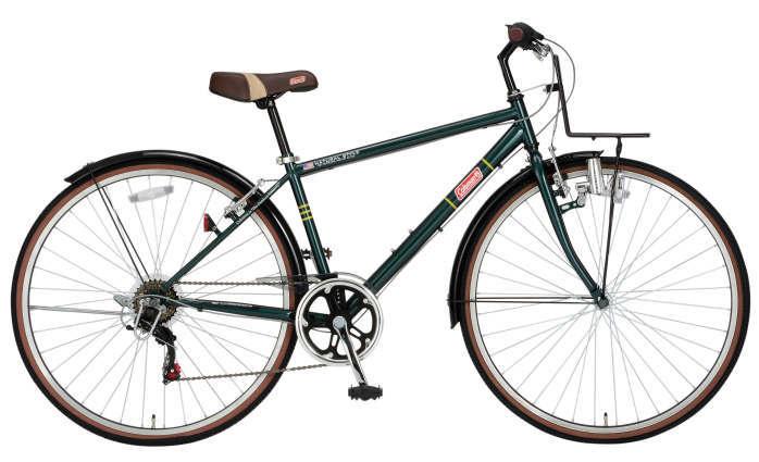 コールマン CRB276 ヴィヴィッド (グリーン) 3302 Coleman CRB276 vivid クロスバイク サギサカ SAGISAKA