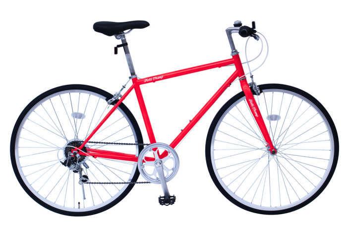 ミムゴ フィールドチャンプ クロスバイク 700C6SF(レッド)MG-FCP700CF MIMUGO FIELD CHAMP CROSSBIKE700C6SF 365 【送料無料・メーカー直送・代引き不可】