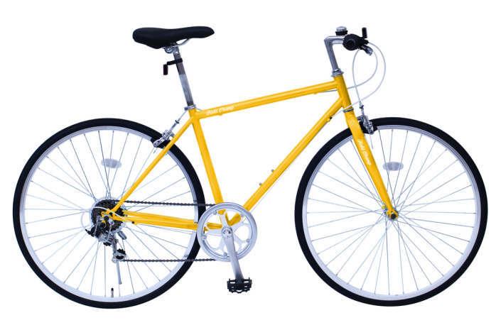ミムゴ フィールドチャンプ クロスバイク 700C6SF(イエロー)MG-FCP700CF MIMUGO FIELD CHAMP CROSSBIKE700C6SF 365 【送料無料・メーカー直送・代引き不可】