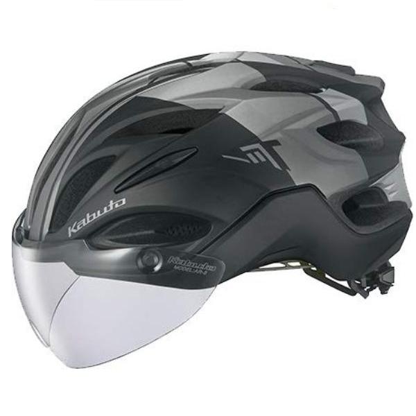 OGK KABUTO VITT (G-1マットブラック) サイクリングヘルメット オージケー カブト ヴィット 自転車 / Lサイズ