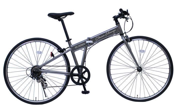 ミムゴ クラシック ミムゴ FDB700C 7SG (ガンメタ)折り畳み自転車 Classic Mimugo FDB700C 7SG (MG-CM7007G) フォールディングバイク 365 【送料無料・メーカー直送・代引き不可】