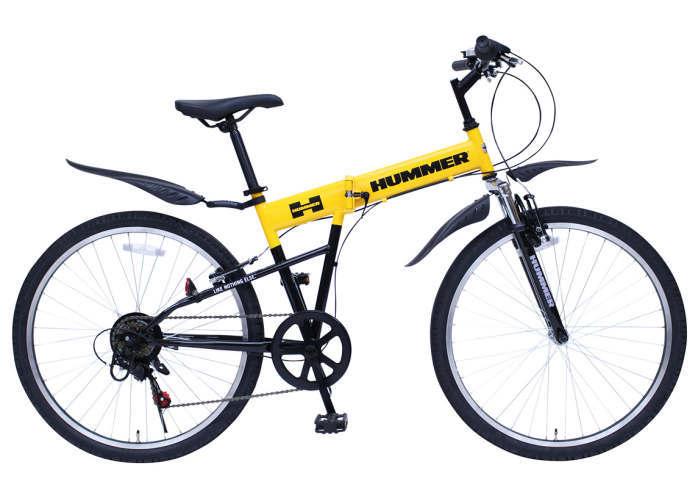 ミムゴ ハマー FサスFD-MTB266SE (イエロー)折り畳み自転車 HUMMER FサスFD-MTB266SE (MG-HM266E) HUMMER ミムゴ フォールディングバイク FサスFD-MTB266SE 365【送料無料・メーカー直送・代引き不可】, ROMANTIC:4ad471e6 --- pecta.tj