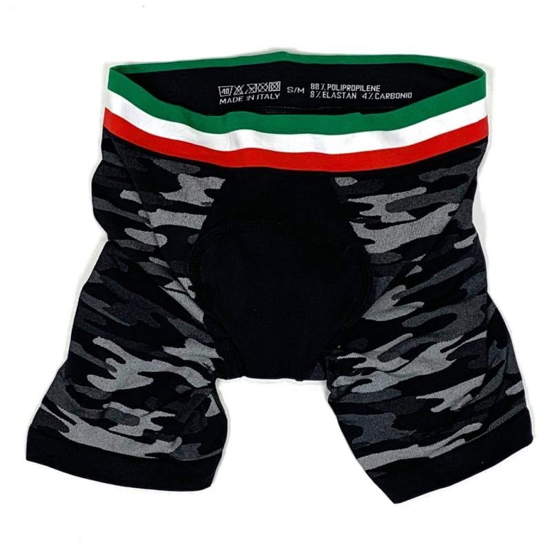 サイクルウエア 全品最安値に挑戦 WEB限定 7-ITA セブン アイティーエー メンズ サイクル ベースレイヤーボクサーショーツ Baselayer Boxer Shorts 7ITA S-Mサイズ