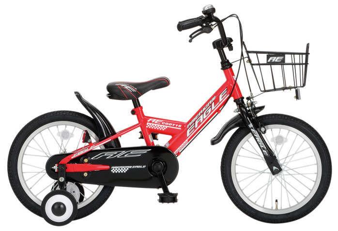 子供用自転車 AE BMX16インチ コディ (レッド) 2463 AE BMX16 CODY サギサカ SAGISAKA