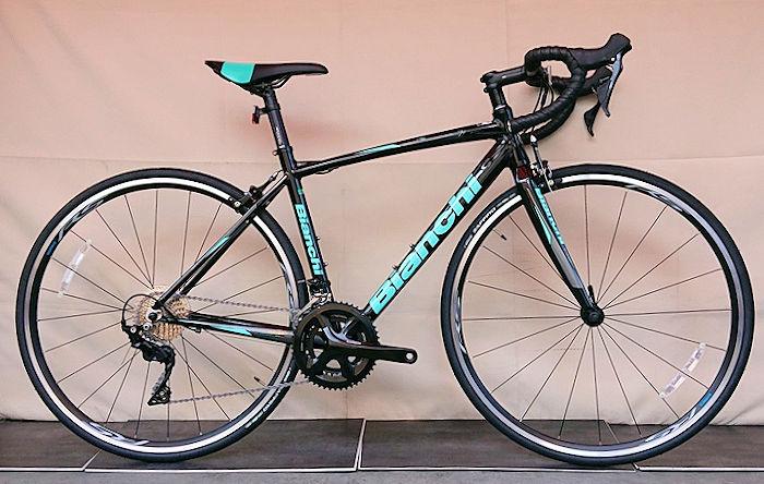 ビアンキ Bianchi ロードバイク ヴィアニローネ 105 2020年モデル (ブラック) Bianchi VIA NIRONE 7 105