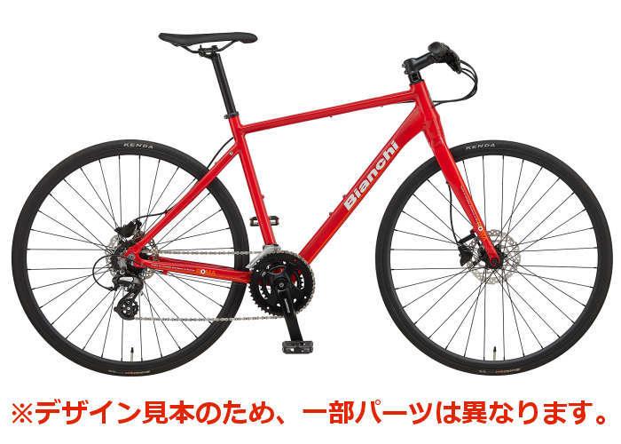 ビアンキ ローマ3 ビアンキ Bianchi クロスバイク ローマ3ディスク 2020年モデル (レッド) Bianchi ROMA 3 DISC