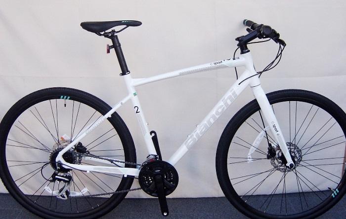 ビアンキ C・スポーツ2 ビアンキ Bianchi クロスバイク C スポーツ2 ディスク 2020年モデル (ホワイト) Bianchi C・SPORT 2 DISC