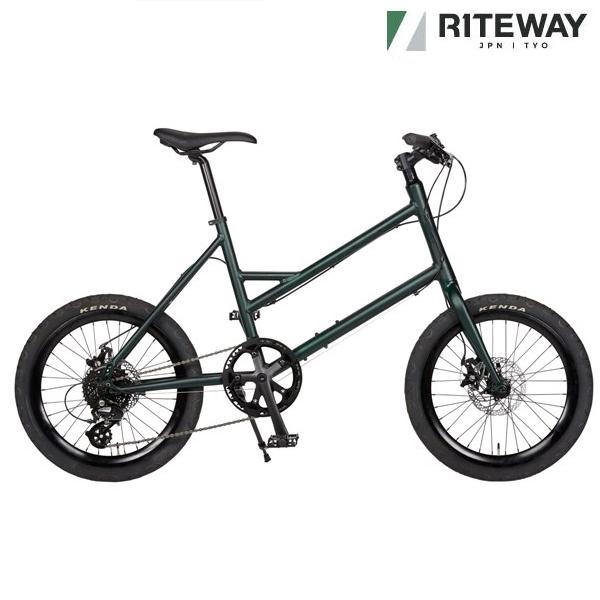 ゆったりマイペース 忙しない日常だからこそ 自分のペースで ミニベロ ライトウェイ グレイシア 保証 RITEWAY 2021 驚きの価格が実現 小径自転車 GLACIER マットダークオリーブ