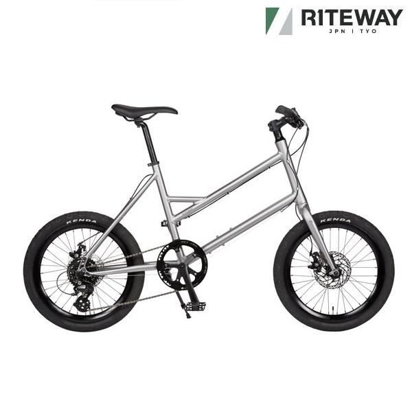 ミニベロ ライトウェイ グレイシア (マットグレー) 2021 RITEWAY GLACIER 小径自転車