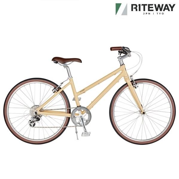 クロスバイク ライトウェイ スタイルス (グロスベージュ)2020 RITEWAY STYLES