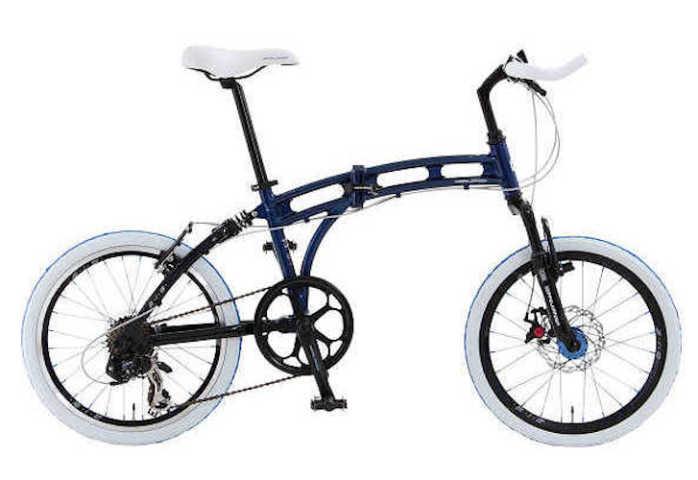 折り畳み自転車 ドッぺルギャンガー 20インチアルミ折りたたみ自転車7段変速付 219 オーロラ (DOPPELGANGER 219 aurora) 折畳み自転車【送料無料・メーカー直送・代引不可】 02P03Dec16