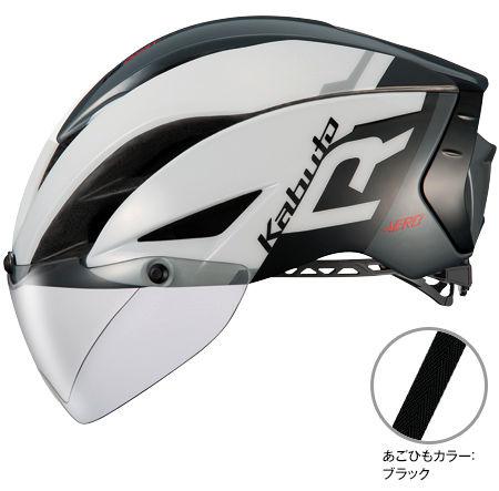 OGK KABUTO AERO-R1 (G-1 ホワイトダークグレー) サイクリングヘルメット オージケー カブト エアロ アールワン 自転車