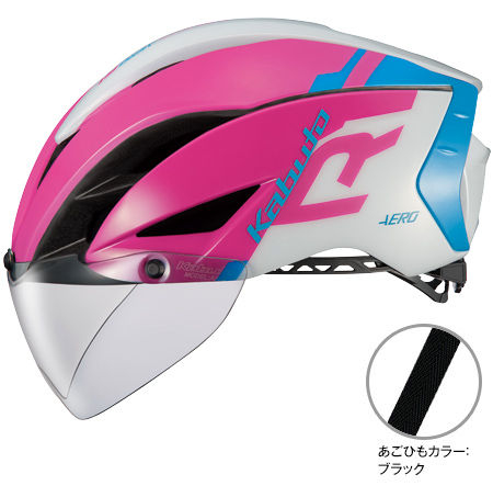 OGK KABUTO AERO-R1 (G-1 ピンクブルー) サイクリングヘルメット オージケー カブト エアロ アールワン 自転車