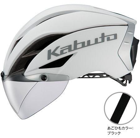 OGK KABUTO AERO-R1 (マットホワイト-1) サイクリングヘルメット オージケー カブト エアロ アールワン 自転車