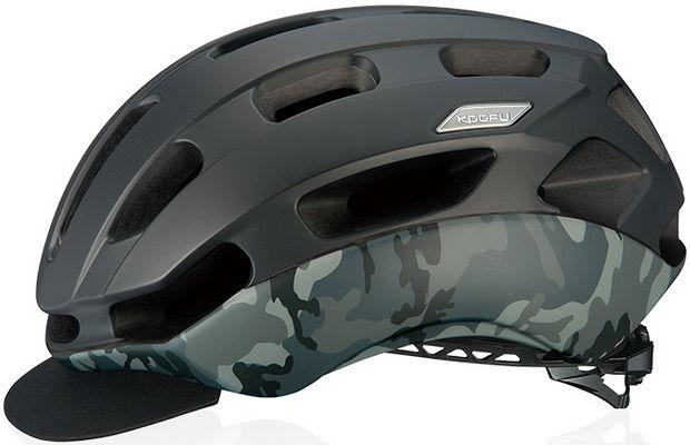 OGK KABUTO BC-Glosbe2 (マットブラックカモ) サイクリング ヘルメット オージケー カブト コーフー BC グロッスベ2 自転車