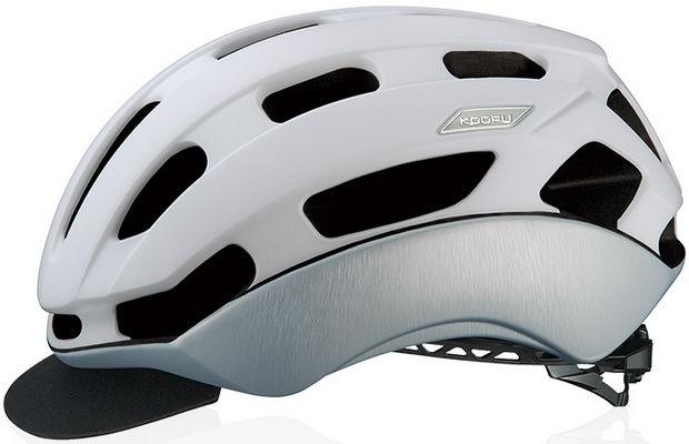 OGK KABUTO BC-Glosbe2 (マットホワイトヘアライン) サイクリング ヘルメット オージケー カブト コーフー BC グロッスベ2 自転車