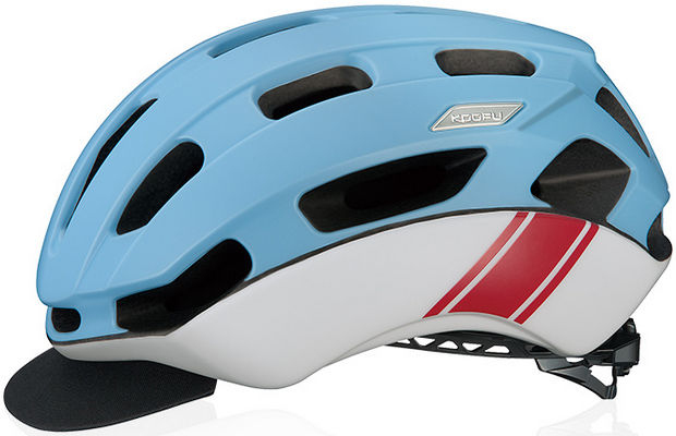 OGK KABUTO BC-Glosbe2 (マットブルーレーサー) サイクリング ヘルメット オージケー カブト コーフー BC グロッスベ2 自転車