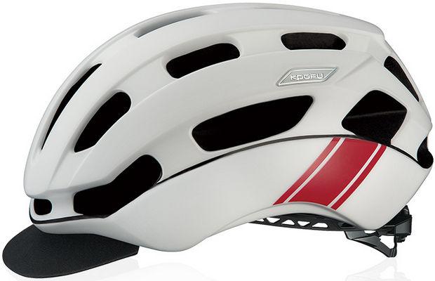 OGK KABUTO BC-Glosbe2 (マットホワイトレーサー) サイクリング ヘルメット オージケー カブト コーフー BC グロッスベ2 自転車