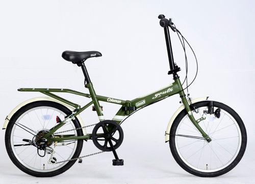 大人気の 折りたたみ自転車 コールマン FDB206 FDB ユース (マットグリーン) 折りたたみ自転車 コールマン 3292 Coleman FDB 206 YOUTH フォールディングバイク サギサカ SAGISAKA, 贅沢屋の:4e6f2b6a --- psicologia153.dominiotemporario.com