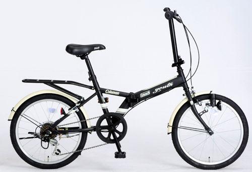 折りたたみ自転車 コールマン FDB206 ユース (マットブラック) 3294 Coleman FDB 206 YOUTH フォールディングバイク サギサカ SAGISAKA