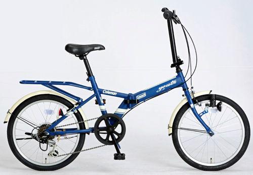 折りたたみ自転車 コールマン FDB206 ユース (マットネイビー) 3295 Coleman FDB 206 YOUTH フォールディングバイク サギサカ SAGISAKA