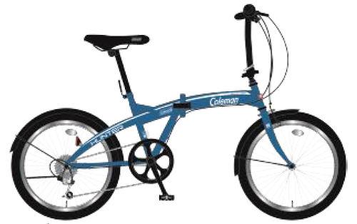 折りたたみ自転車 コールマン FDB206 ハンター (マットブルー) 3298 Coleman FDB 206 HUNTER フォールディングバイク サギサカ SAGISAKA