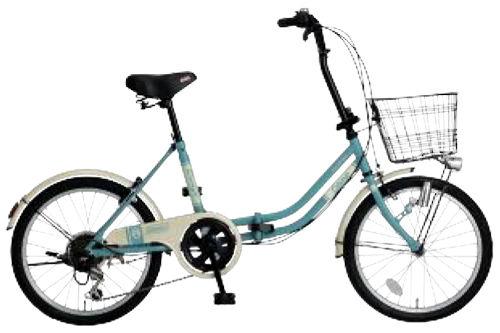 折りたたみ自転車 コールマン FDB206 カーゴ (ミントグリーン) 3287 Coleman FDB 206 CARGO フォールディングバイク サギサカ SAGISAKA