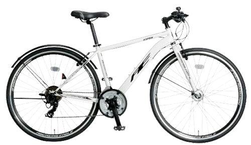 クロスバイク アメリカンイーグル AE CRB700DX ASPEN (ホワイト) 2132 AMERICAN EAGLE CRB 700 DX アスペン サギサカ SAGISAKA