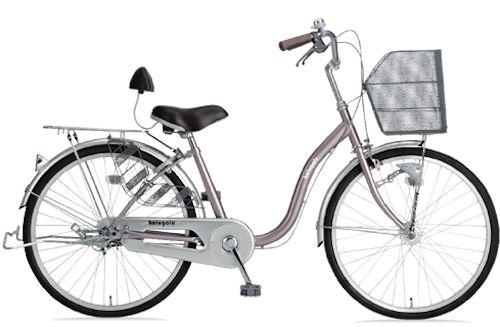 シティサイクル サギサカ かるがるペダル軽快240 (ブロンズ) 2151 SAGISAKA かるがる ペダル 軽快 240