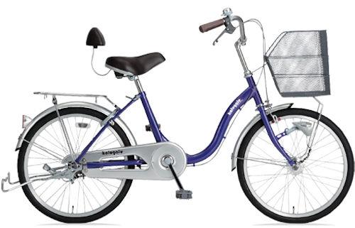 シティサイクル サギサカ かるがるペダル軽快200 (バイオレット) 2152 SAGISAKA かるがる ペダル 軽快 200
