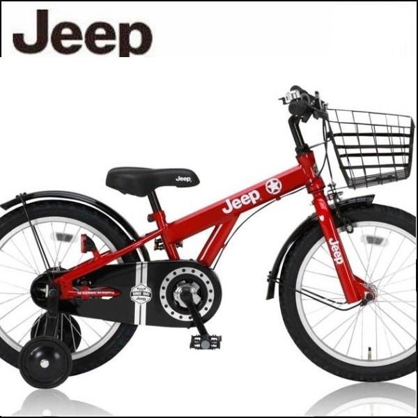 幼児用自転車 JEEP JE-18 (レッド) ジープ JE 18 子供用自転車 キッズバイク