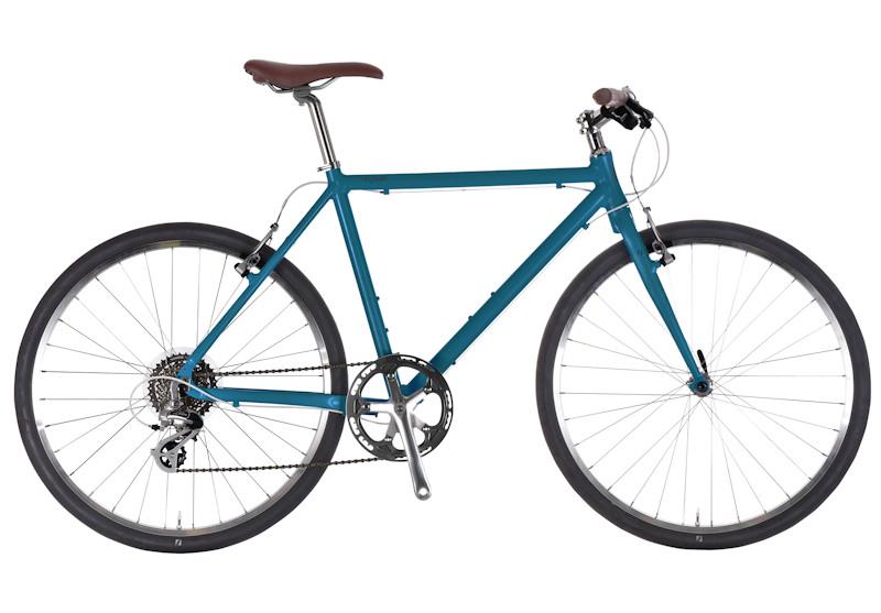 男性でも女性でも 身長にあった最適の乗り心地を クロスバイク 大人気 ライトウェイ おすすめ特集 シェファード RITEWAY マットディープブルー SHEPHERD 2021