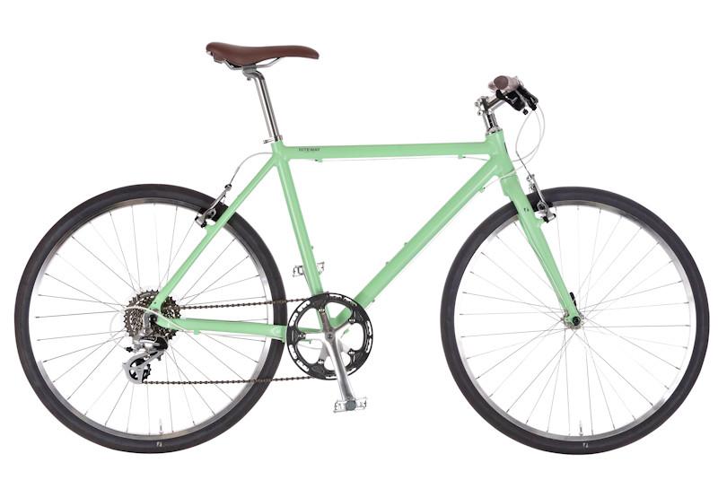 男性でも女性でも 身長にあった最適の乗り心地を クロスバイク ライトウェイ シェファード RITEWAY マットミント SHEPHERD 新作送料無料 評価 2021