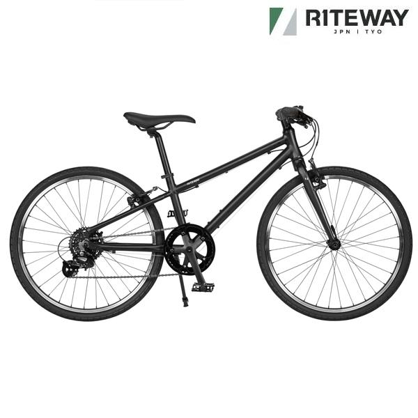子供用自転車 ライトウェイ シェファード 24スローピング (マットブラック)2020 RITEWAY SHEPHERD 24SL